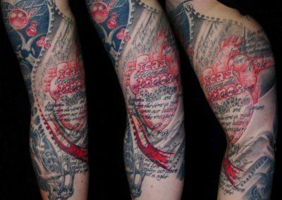 Trash Tattoo Herz