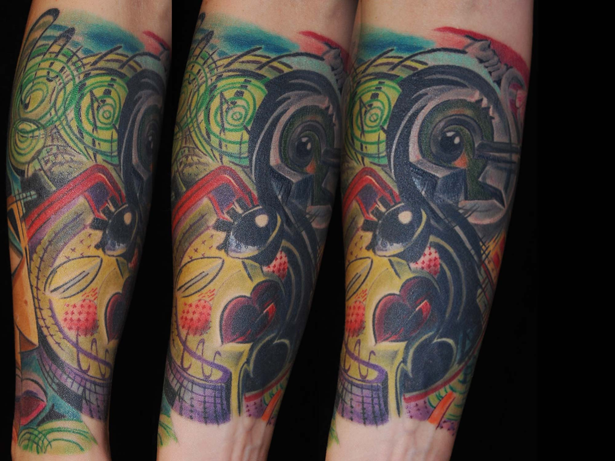 Hundertwasser-picasso-cover-up-raul-shit-for-life-tattoo-hits-for-life-tattoo-muenchen-taufkirchen-danach-2