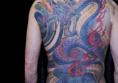 Drachen Fullback Tattoo