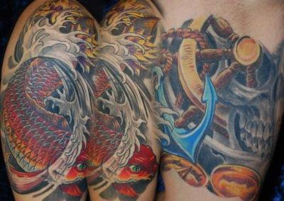 Koi Cover-up Tattoo