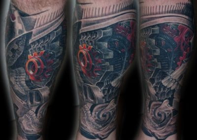 Biomechanik Steampunk Cover-up
