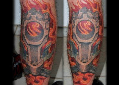 Biomechanik Tattoo Pleuel of Doom