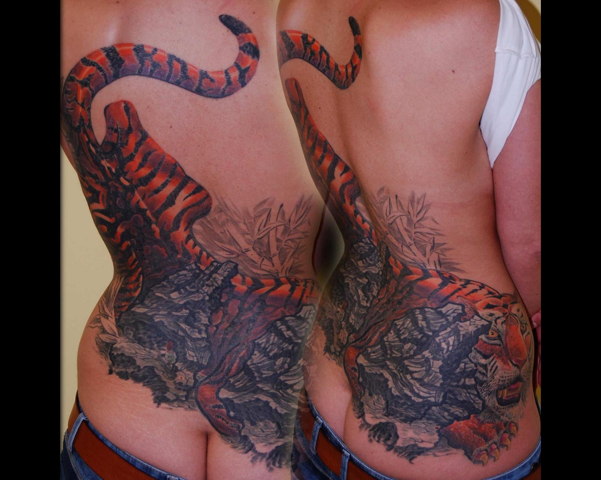 Cover up tribal tattoo Überdeckung shit gottseidank nicht for life München Spezialist