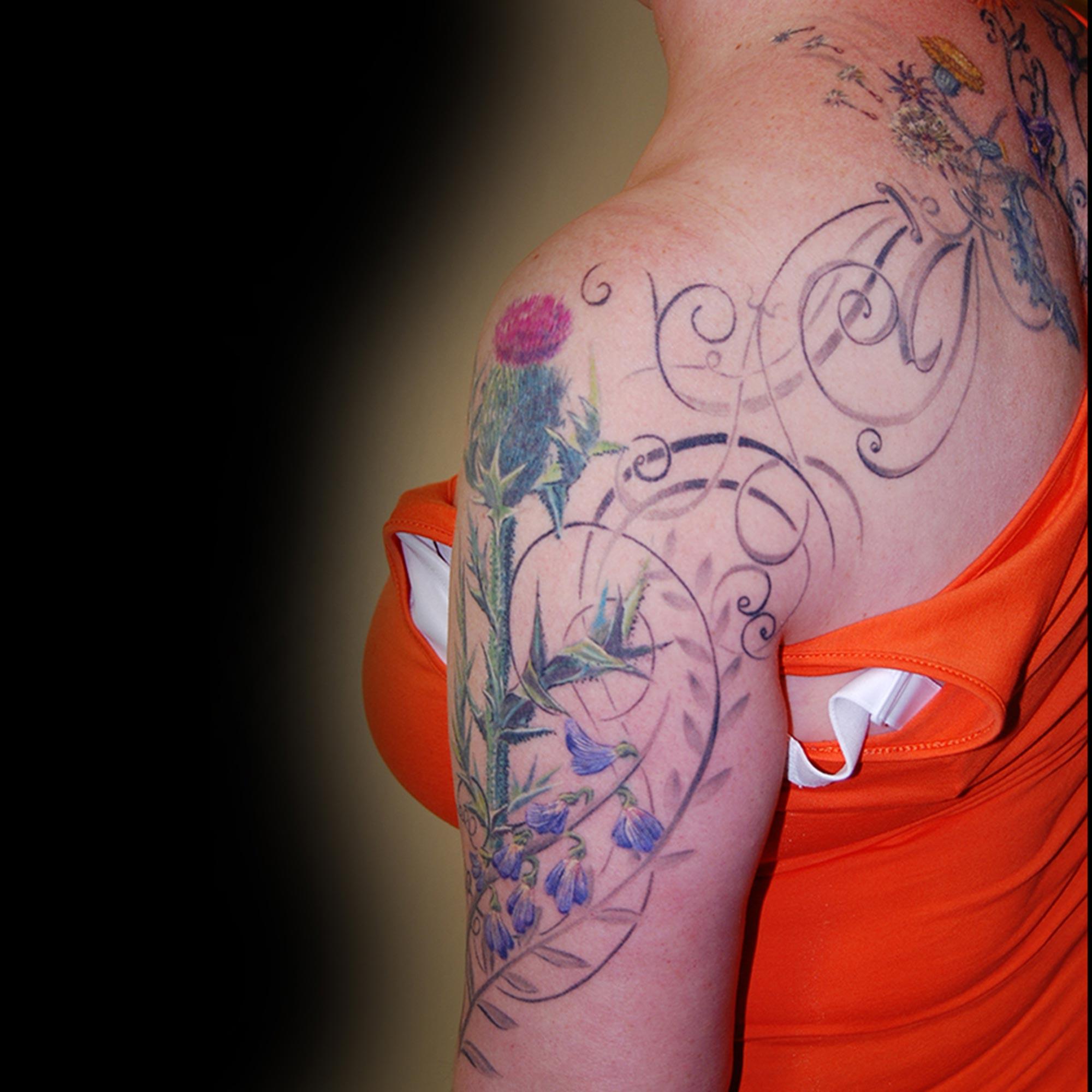 Sabine Blumen Tattoo