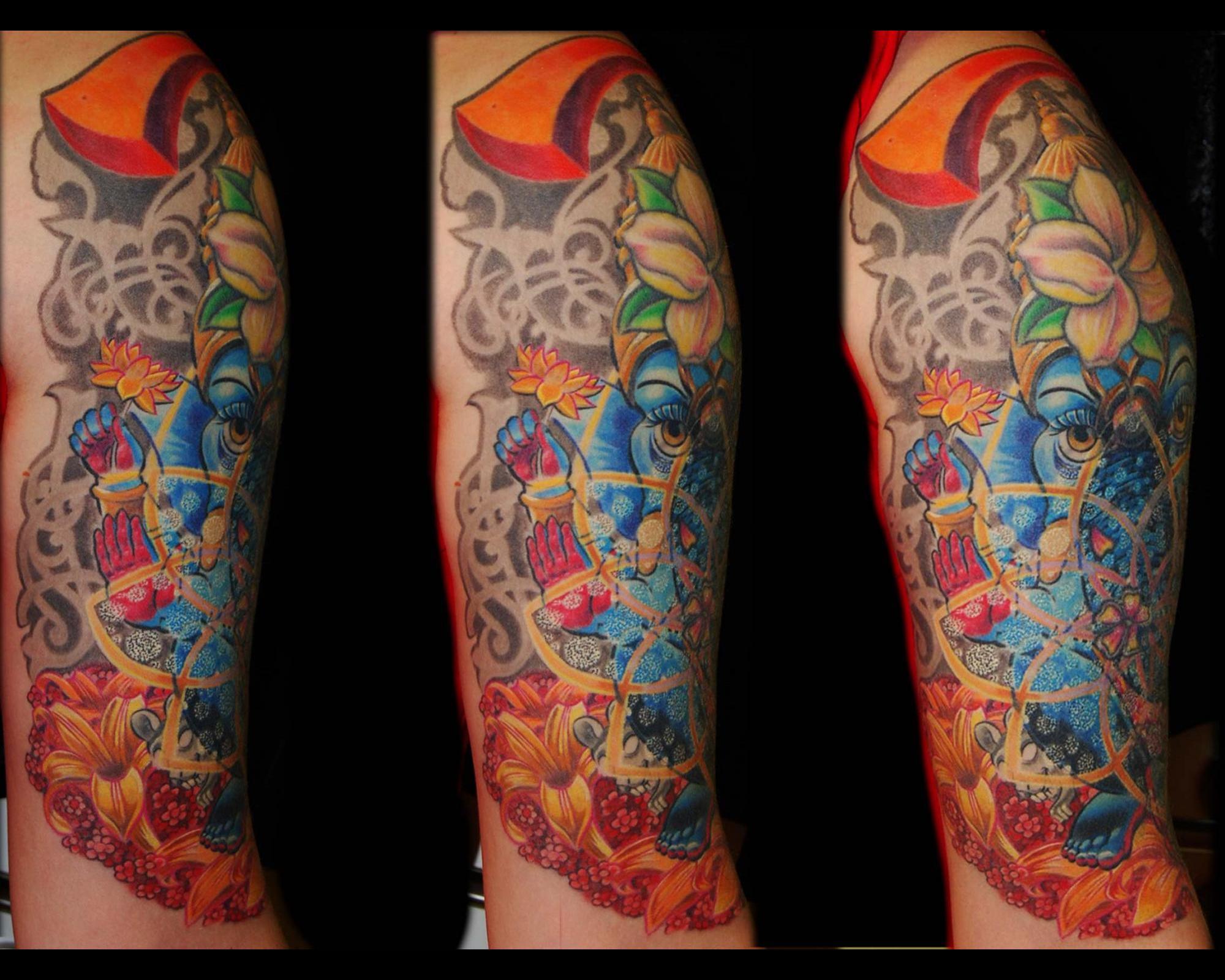 ueberdeckung-cover-up-tattoo-ganesha-blumen-muenchen-3