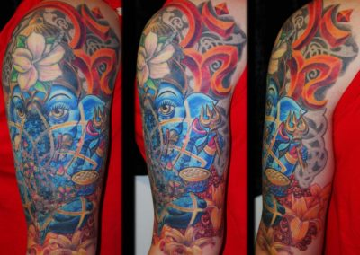 Ganesha Blumen Cover-up