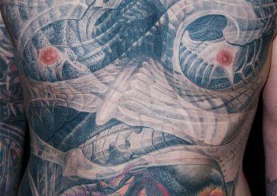 Hakenkreuz Überdeckung Cover-up Tattoo