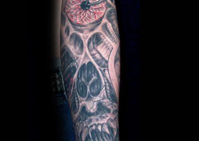 Hardcore for Life Tattoo