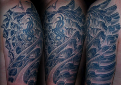 Biomechanik Erweiterung Tattoo
