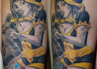 Münchner Kindl Tattoo