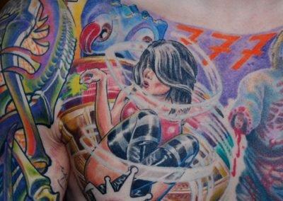 Players Girl Tattoo