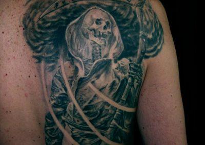Sensenmann Tattoo