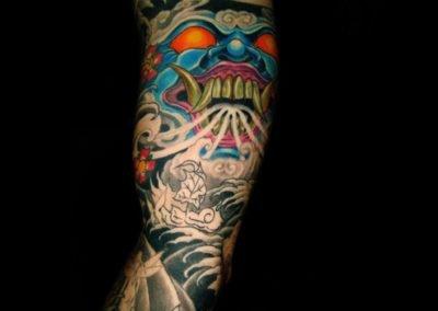 Maske Tattoo