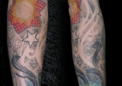 Fraktal Mandala Tattoo