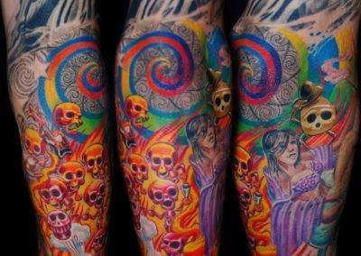 Toten Party Tattoo