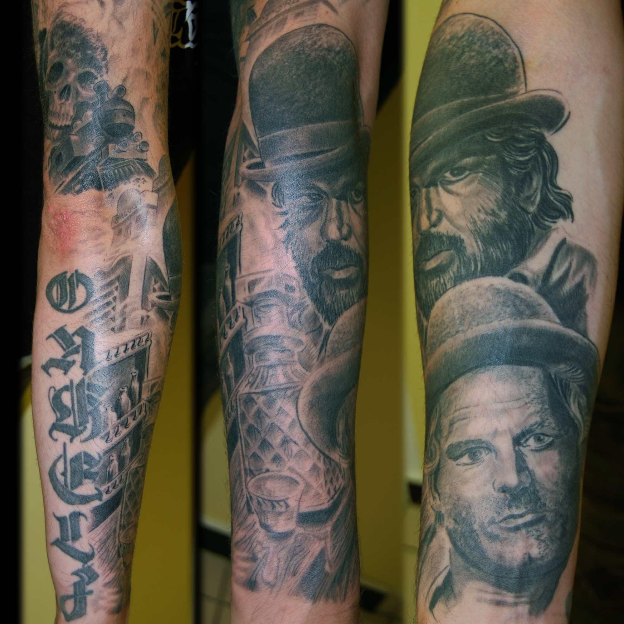 Bud Spencer und Terrence Hill Tattoo München