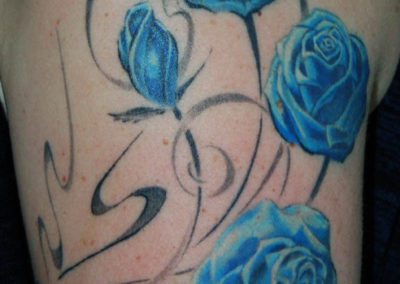 Rosen Tattoo Ornament München
