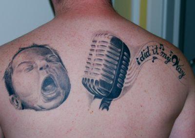 Baby Erweiterung Tattoo Cover up