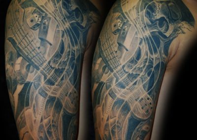 Rock´n´Roll- Music was my first Love- Tattoo
