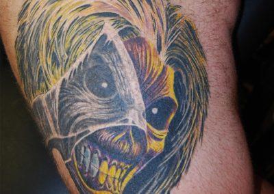 Iron Maiden Eddie Tattoo München