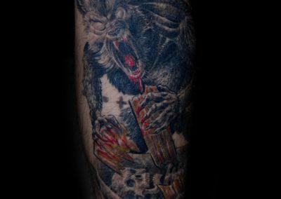 Werwolf Tattoo München