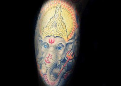 Ganesha Tattoo